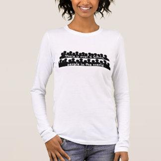 6 billion people long sleeve T-Shirt