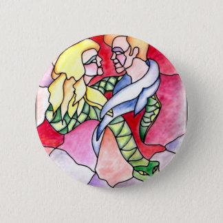 6 - Lovers 6 Cm Round Badge