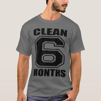 6 months clean black T-Shirt