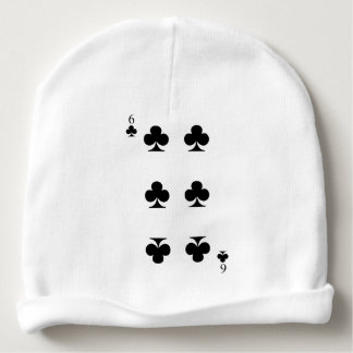 6 of Clubs Baby Beanie
