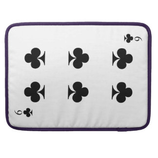 6 of Clubs Sleeve For MacBooks