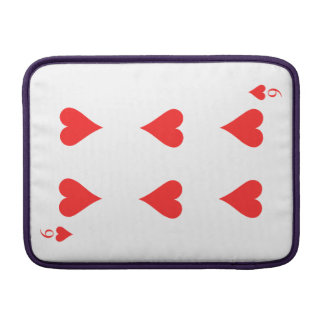 6 of Hearts Sleeve For MacBook Air