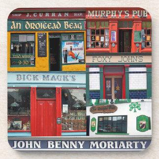 6 Plastic Irish Pubs Coasters, Dingle, Ireland Coaster