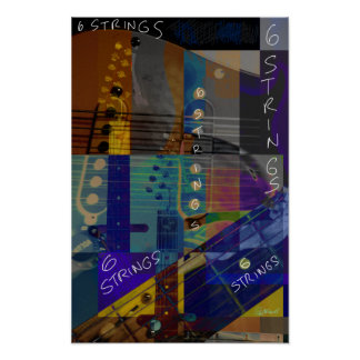 6 Strings Poster