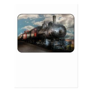 6 - Train - NW Class G Steam Locomotive 4-6-0 Postcard