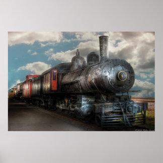 6 - Train - NW Class G Steam Locomotive 4-6-0 Print