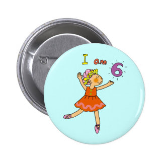 6 year old ballerina buttons