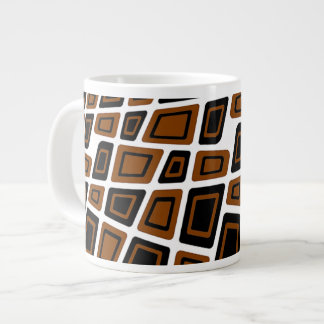 6O's Deco Giant Coffee Mug