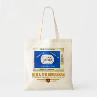 6th & 7th Arkansas Infantry (consolidated) Tote Bag