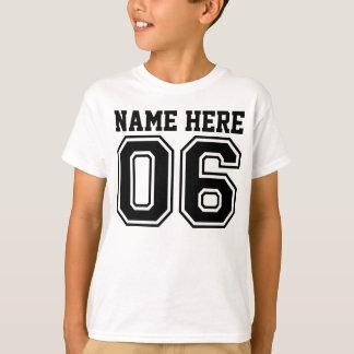 6th Birthday (Customizable Kid's Name) T-Shirt