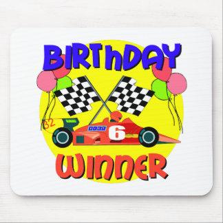6th Birthday Race Car Birthday Mousepad