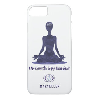6th Chakra Third Eye Anja Inner Guide Personalized iPhone 8/7 Case