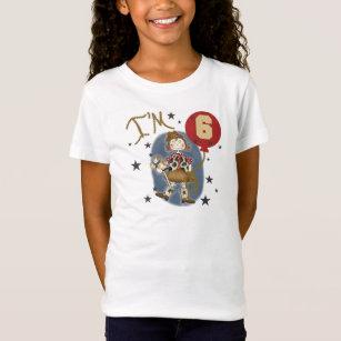 6th Cowgirl Birthday T-Shirt