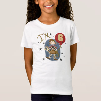 6th Cowgirl Birthday T-Shirt