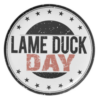6th February - Lame Duck Day Plate