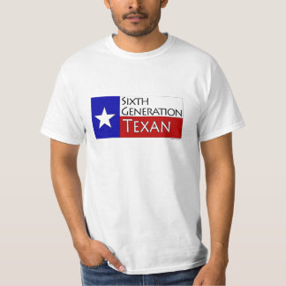 6th Generation Texan Tshirts
