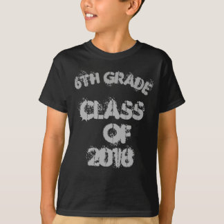 6th Grade Class of 2018 T-Shirt