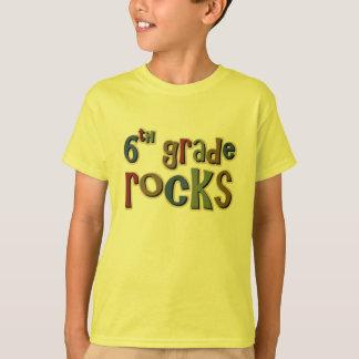 6th Grade Rocks Sixth T-Shirt