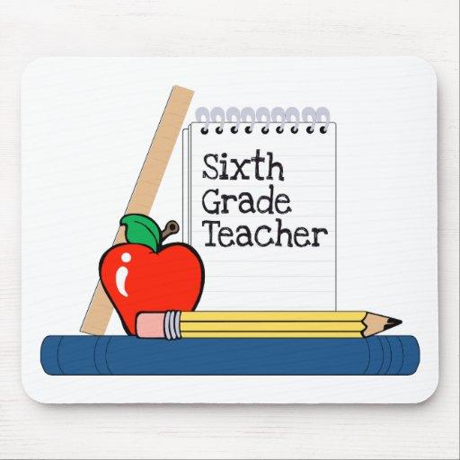 6th Grade Teacher (Notebook) Mousepad