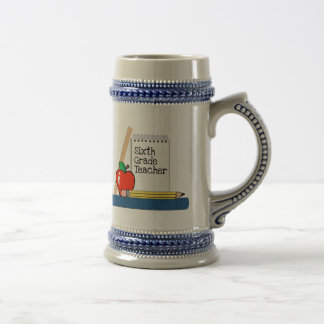 6th Grade Teacher (Notebook) Coffee Mugs