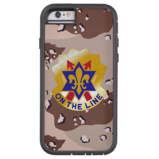 """6th Infantry Division """"Sight Seein' Sixth"""" Camo Tough Xtreme iPhone 6 Case"""