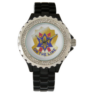 """6th Infantry Division """"Sight Seein' Sixth"""" Wrist Watches"""