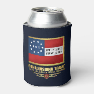 "6th Louisiana ""Irish"" Infantry Can Cooler"