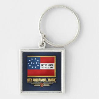 "6th Louisiana ""Irish"" Infantry Key Ring"
