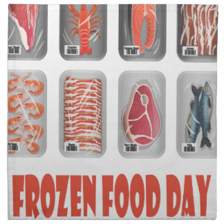6th March - Frozen Food Day Napkins