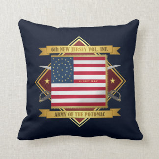 6th New Jersey Volunteers Cushion
