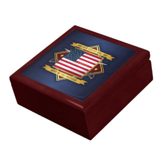 6th New Jersey Volunteers Large Square Gift Box