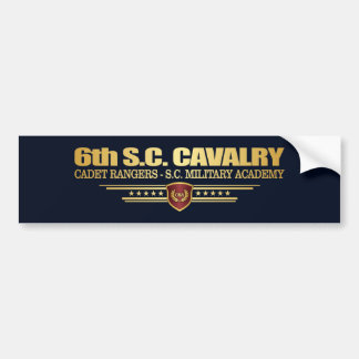 6th SC Cavalry (Cadet Rangers) Bumper Sticker