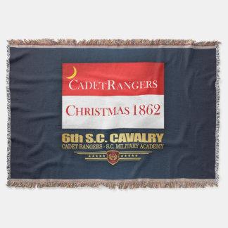 6th SC Cavalry (Cadet Rangers) Throw Blanket