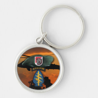 6th SF SFG Special Forces Group Green Berets Nam Key Ring