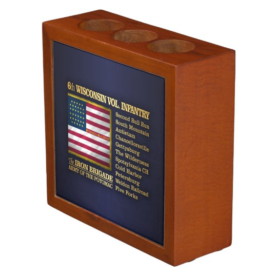 6th Wisconsin Volunteer Infantry (BH) Pencil Holder