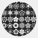6x7 classic round sticker