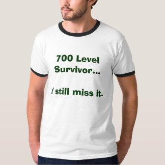 700 Level Survivor...I still miss it. Tshirts