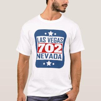 702 Las Vegas NV Area Code T-Shirt