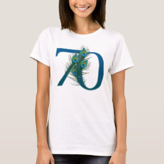 70 / 70th number birthday or anniversary T-Shirt