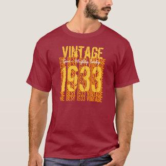 70- 79 Birthday Gift Best 1933 Vintage V002 T-Shirt