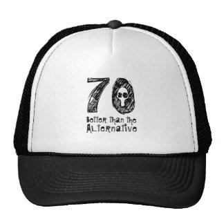 70 Better Than Alternative 70th Funny Birthday Q70 Cap