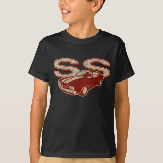 70 Chevelle SS Distressed Dark Red T-Shirt