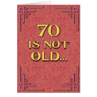 70 is not old card