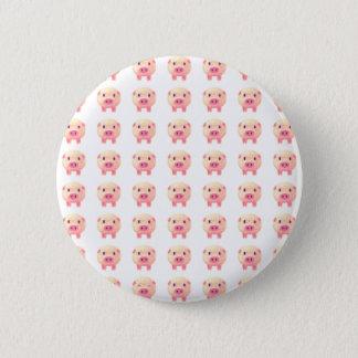70 Pink Pigs 6 Cm Round Badge