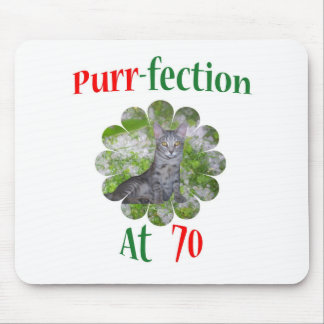 70 Purr-fection Mouse Pad
