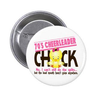 70's Cheerleader Chick Pins