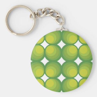 70 ' s years green circle rows… key ring