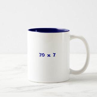 70 x 7 Two-Tone coffee mug