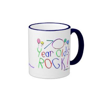 70 Year Olds Rock ! Mugs