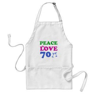 70 years Old birthday designs Standard Apron